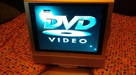 Television with DVD