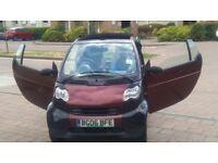 SMART FORTWO CONVERTIBLE ,SEMI-AUTO,SUPERB DRIVES CONDITION,