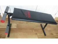 York - Folding Exercise / Weights Bench