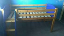 Kids Single Pine Bed