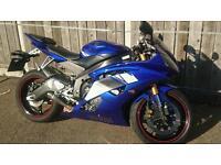 Yamaha r6 2011 13s low mileage 3k