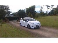 2012 Ford Fiesta Zetec s tdci 1.6 white not( golf polo vw leon seat focus is200 207 208)