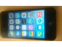 APPLE IPHONE 4 MINT AND BLACK AND UNLOCK TO ALL NETWORK