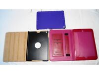 3 Ipad Air 5 Leather and Silicone/Gel/Rubber Protective Cases
