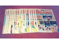 Selection of The Beano Comic from may 1993 to may 1998 23 comics alltogether in very good condition