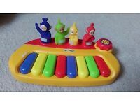 Teletubbies keyboard baby toddler toy