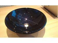 black sparkle basin