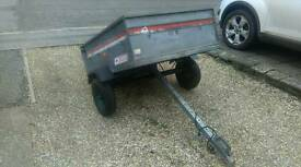 Erde 122 maypole Williams metal galvanized heavy duty trailer camping recycling centre
