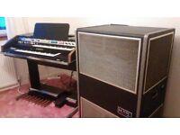 Hammond B200 Organ & Leslie Hl822 Cabinet