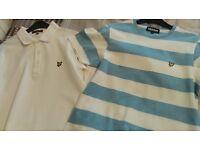 'Lyle & Scott' Polo Shirt and T-Shirt