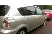 Toyota corolla verso 2004 manual cheap and stunning 7 seater