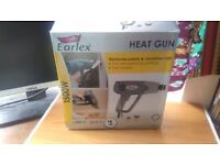 Heat gun in box with 2 attachments