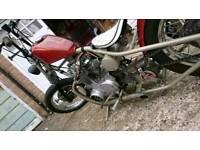 Yamaha 650 bobber