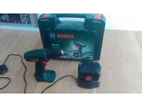 Bosch Cordless Drill and Battery
