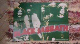 Black Sabbath + Carcass + System Of A Down Posters Ozzy