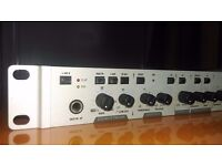 PHONIC A6400 microphone preamplifier with rack mounting ears