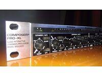 Behringer Composer Pro-XL MDX2600 audio compressor/limiter