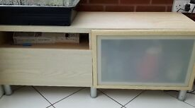 Ikea sideboard / hi-fi or storage unit.