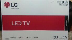 """49"""" LG LED TV BRAND NEW"""