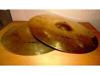 14 inch Drums Hi-Hat cymbals