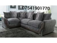 Free delivery Annie brand new corner sofa