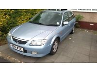 Mazda 323F for sale. Still Taxed and MOT due in November 2017