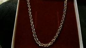 9ct gold 18inch chain