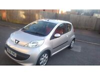 peugeot 107 urban move 2008. Low milage!!!