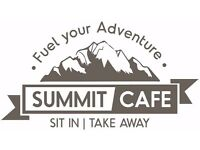 Part Time Cafe Assistant - Summit Cafe within the Tiso Edinburgh Outdoor Experience store