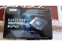 Korg Kaoss Pad 2