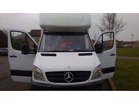 Mercedes Sprinter 313 CDI LWB 14ft Luton with Tail Lift-Ready For Work
