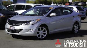 2012 Hyundai Elantra LIMITED! LEATHER! SUNROOF! ONLY 31K!