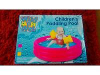 Baby paddling pool brand new