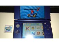 Nintendo 3DSxl (newest version, faster processor) + Pokemon Alpha Sapphire and Mariokart saved on ds