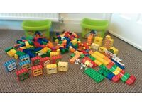 Large collection of Lego Duplo over 230 items, includes 2 x boxes of of Duplo 5416