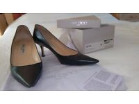 Jimmy Choo Black Court Shoes, size 40/6 1/2. Some wear on sole but uppers are in excellent condition