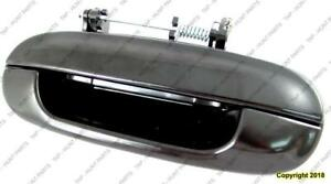 Door Handle Outer Rear Driver Side (With Chrome Trim)  GMC Envoy 2002-2009