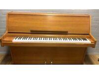 Challen upright piano |Teak ||| Belfast Pianos| Free Delivery | Dunmurry | Belfast ||