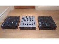 Pioneer CDJ1000 Mk3 x2 & Xone 92 mixer