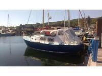 Motorsailer boat