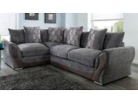 07541901770 Annie grey brand new corner sofa**Free delivery**