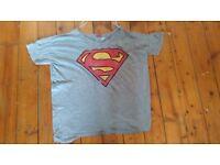 Men's Superman Logo T-Shirt (Large)