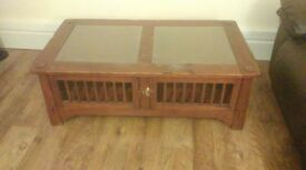 Quality Antique Solid Wood Coffee Table