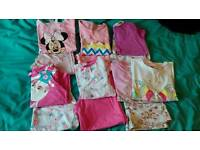 Girls pj bundle age 5-6