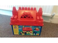 Mega bloks castle set from Early Learning Centre 50 piece set