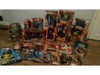 Large bundle of Dr Who toys