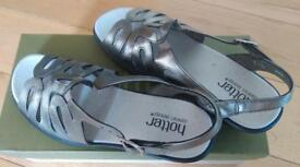 Hotter leather ladies sandals size 5 (38)