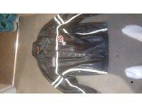 Mens PVC Leather Jacket - L