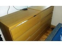 Two drawer set, sturdy well made, price for the two.
