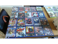 "job lot of dvd""s, ps2 and xbox games"